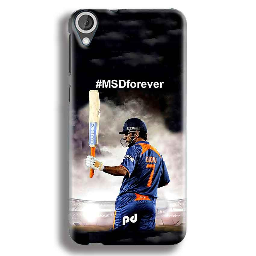 HTC Desire 820 Mobile Covers Cases MS dhoni Forever - Lowest Price - Paybydaddy.com
