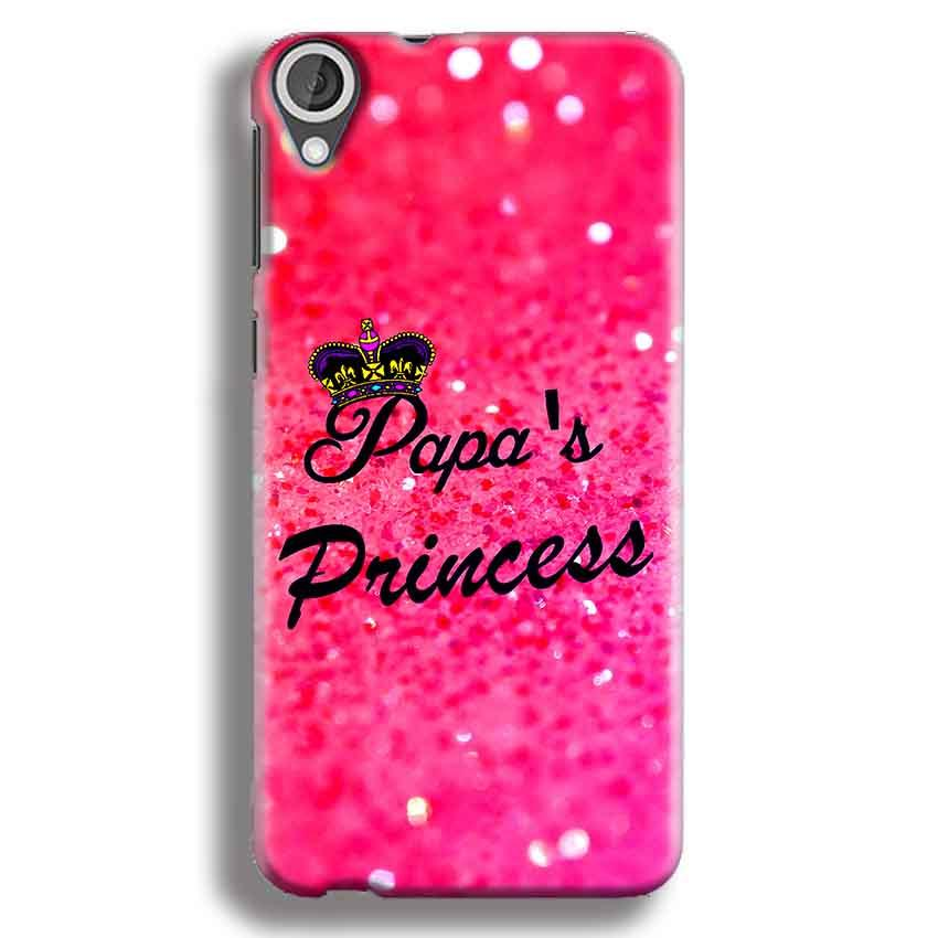 HTC Desire 820 Mobile Covers Cases PAPA PRINCESS - Lowest Price - Paybydaddy.com