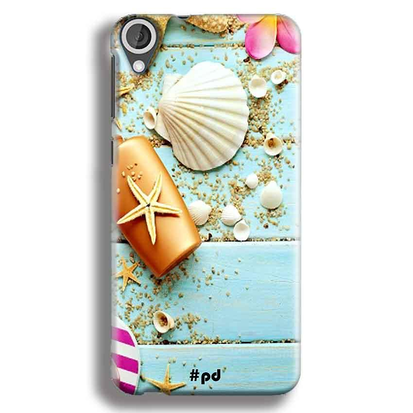 HTC Desire 820 Mobile Covers Cases Pearl Star Fish - Lowest Price - Paybydaddy.com