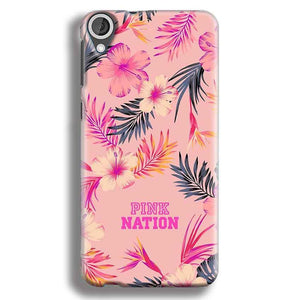 HTC Desire 820 Mobile Covers Cases Pink nation - Lowest Price - Paybydaddy.com