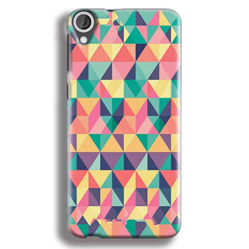 HTC Desire 820 Mobile Covers Cases Prisma coloured design - Lowest Price - Paybydaddy.com