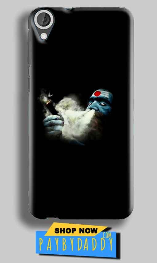 HTC Desire 820 Mobile Covers Cases Shiva Aghori Smoking - Lowest Price - Paybydaddy.com
