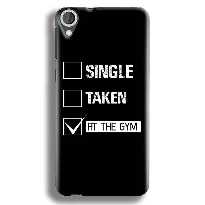 HTC Desire 820 Mobile Covers Cases Single Taken At The Gym - Lowest Price - Paybydaddy.com