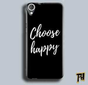 HTC Desire 820 Mobile Covers Cases Choose happy - Lowest Price - Paybydaddy.com