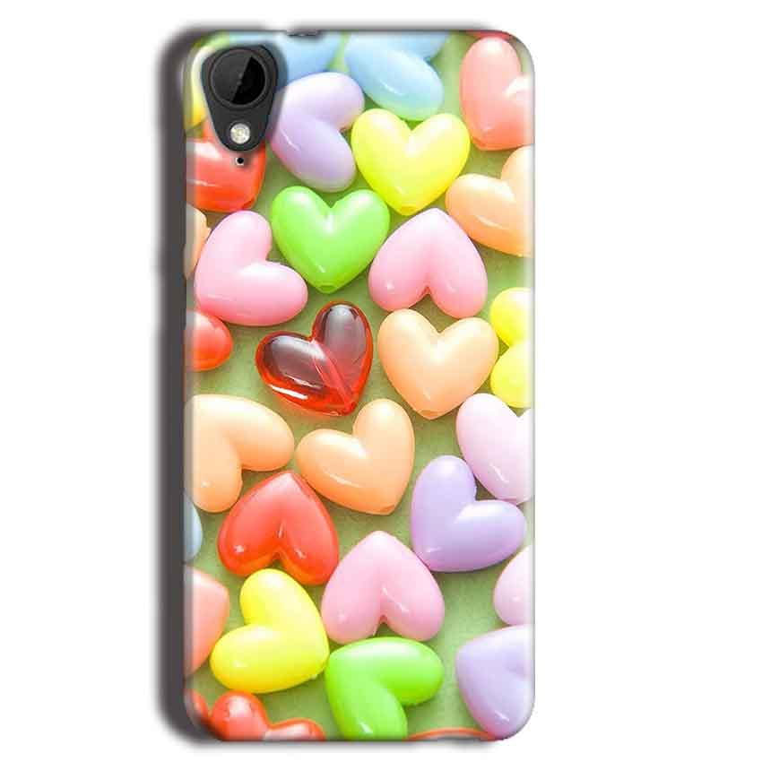 HTC Desire 825 Mobile Covers Cases Heart in Candy - Lowest Price - Paybydaddy.com