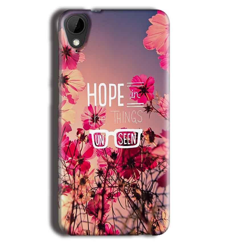 HTC Desire 825 Mobile Covers Cases Hope in the Things Unseen- Lowest Price - Paybydaddy.com