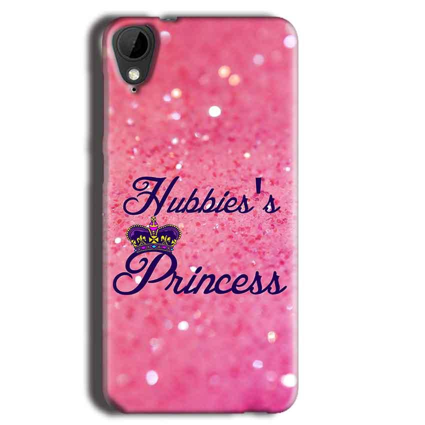 HTC Desire 825 Mobile Covers Cases Hubbies Princess - Lowest Price - Paybydaddy.com