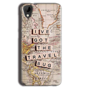 HTC Desire 825 Mobile Covers Cases Live Travel Bug - Lowest Price - Paybydaddy.com