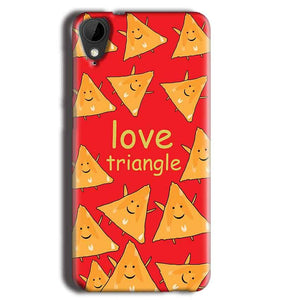 HTC Desire 825 Mobile Covers Cases Love Triangle - Lowest Price - Paybydaddy.com