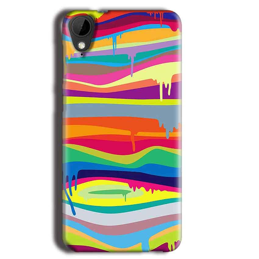 HTC Desire 825 Mobile Covers Cases Melted colours - Lowest Price - Paybydaddy.com