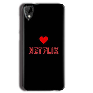 HTC Desire 825 Mobile Covers Cases NETFLIX WITH HEART - Lowest Price - Paybydaddy.com