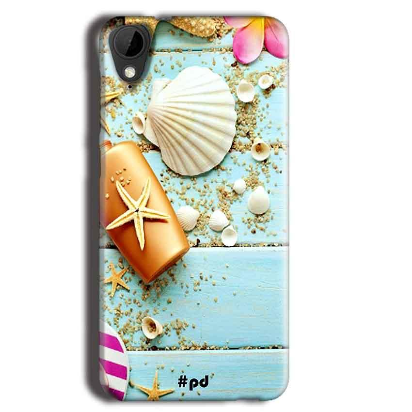 HTC Desire 825 Mobile Covers Cases Pearl Star Fish - Lowest Price - Paybydaddy.com