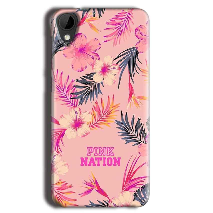 HTC Desire 825 Mobile Covers Cases Pink nation - Lowest Price - Paybydaddy.com
