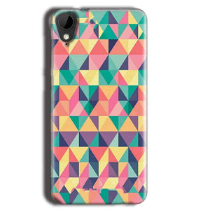 HTC Desire 825 Mobile Covers Cases Prisma coloured design - Lowest Price - Paybydaddy.com