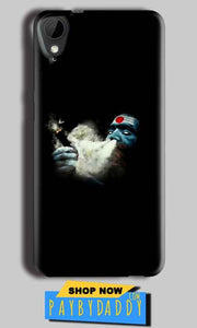 HTC Desire 825 Mobile Covers Cases Shiva Aghori Smoking - Lowest Price - Paybydaddy.com