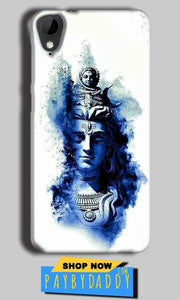 HTC Desire 825 Mobile Covers Cases Shiva Blue White - Lowest Price - Paybydaddy.com
