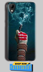 HTC Desire 825 Mobile Covers Cases Shiva Hand With Clilam - Lowest Price - Paybydaddy.com