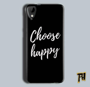 HTC Desire 825 Mobile Covers Cases Choose happy - Lowest Price - Paybydaddy.com