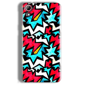 HTC Desire 826 Mobile Covers Cases Colored Design Pattern - Lowest Price - Paybydaddy.com