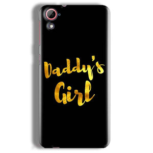 HTC Desire 826 Mobile Covers Cases Daddys girl - Lowest Price - Paybydaddy.com