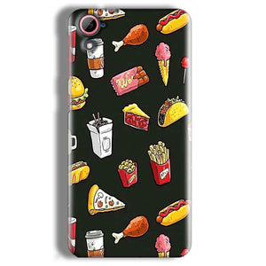 HTC Desire 826 Mobile Covers Cases Foodie Design - Lowest Price - Paybydaddy.com