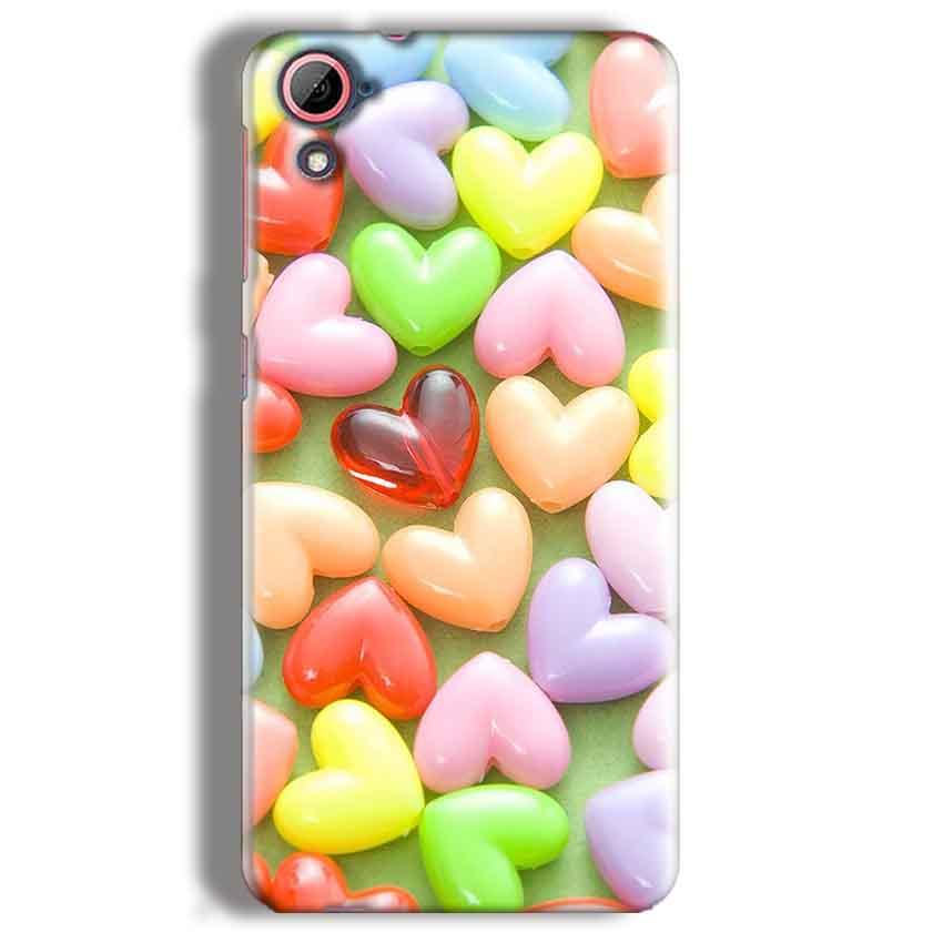 HTC Desire 826 Mobile Covers Cases Heart in Candy - Lowest Price - Paybydaddy.com
