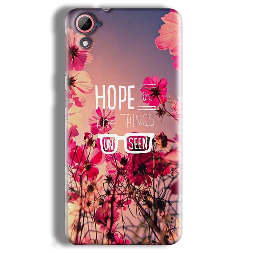 HTC Desire 826 Mobile Covers Cases Hope in the Things Unseen- Lowest Price - Paybydaddy.com