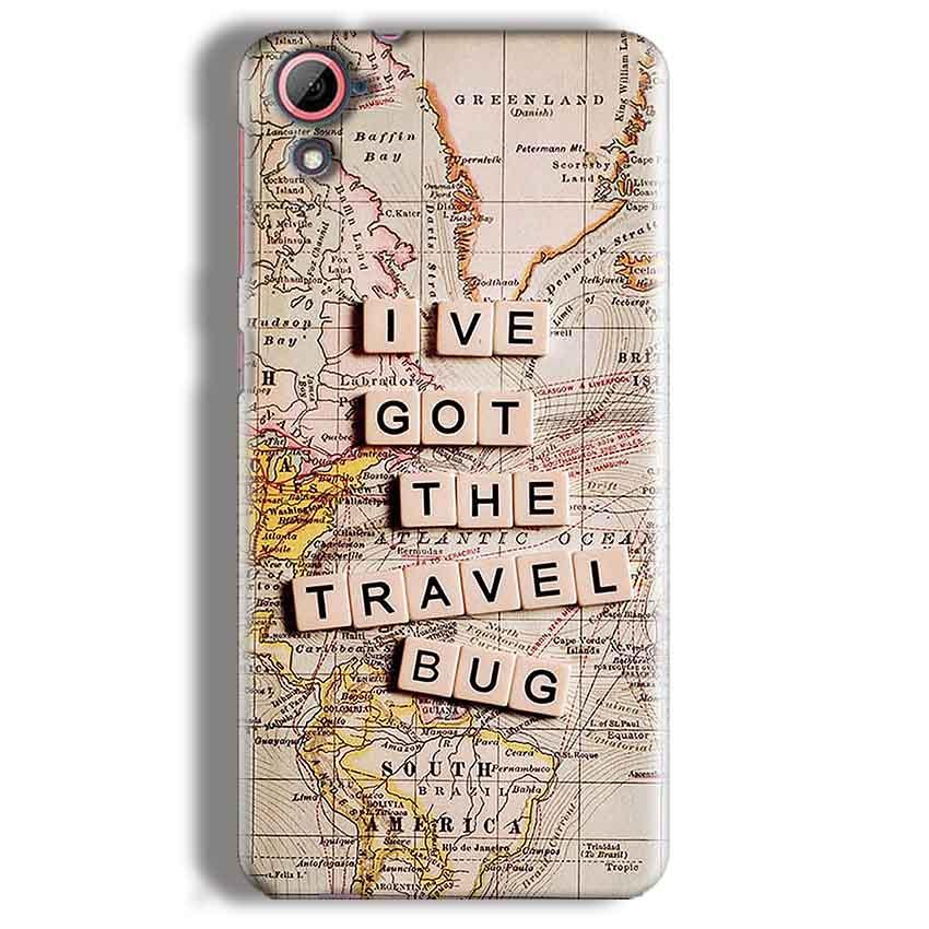 HTC Desire 826 Mobile Covers Cases Live Travel Bug - Lowest Price - Paybydaddy.com