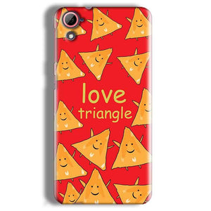 HTC Desire 826 Mobile Covers Cases Love Triangle - Lowest Price - Paybydaddy.com