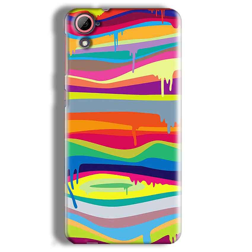 HTC Desire 826 Mobile Covers Cases Melted colours - Lowest Price - Paybydaddy.com