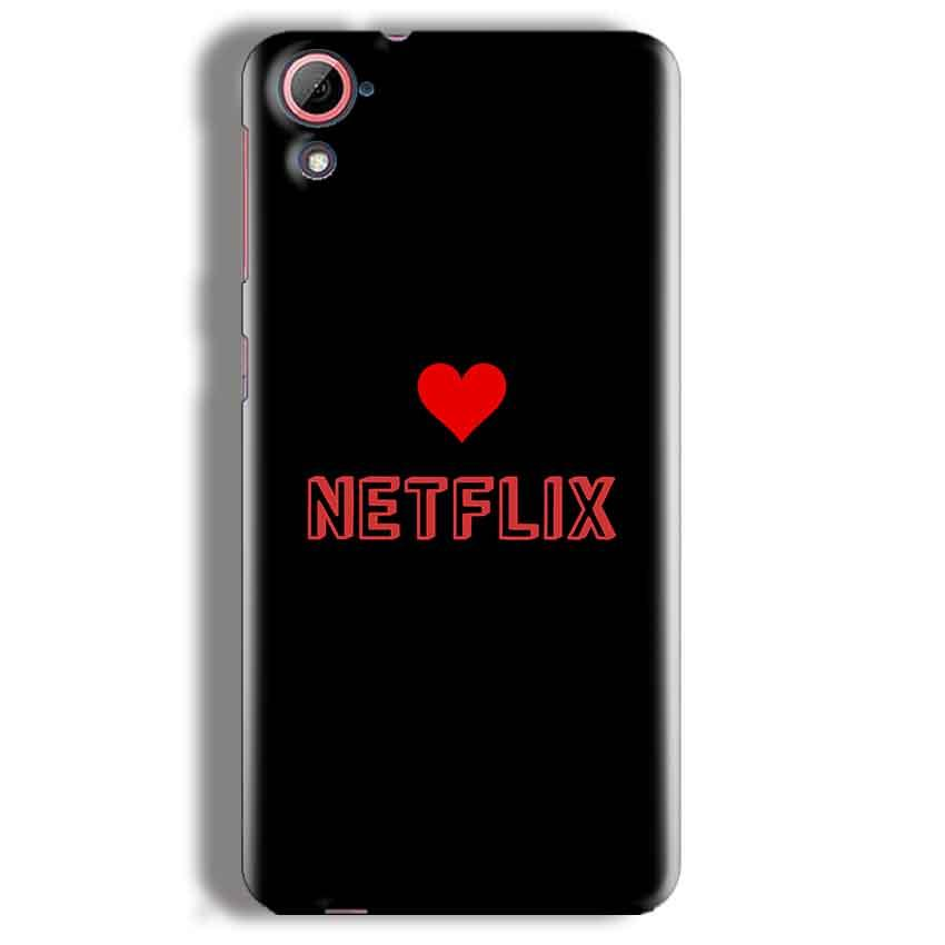 HTC Desire 826 Mobile Covers Cases NETFLIX WITH HEART - Lowest Price - Paybydaddy.com