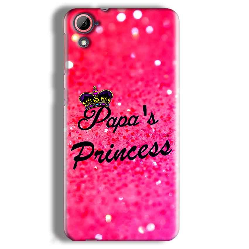 HTC Desire 826 Mobile Covers Cases PAPA PRINCESS - Lowest Price - Paybydaddy.com