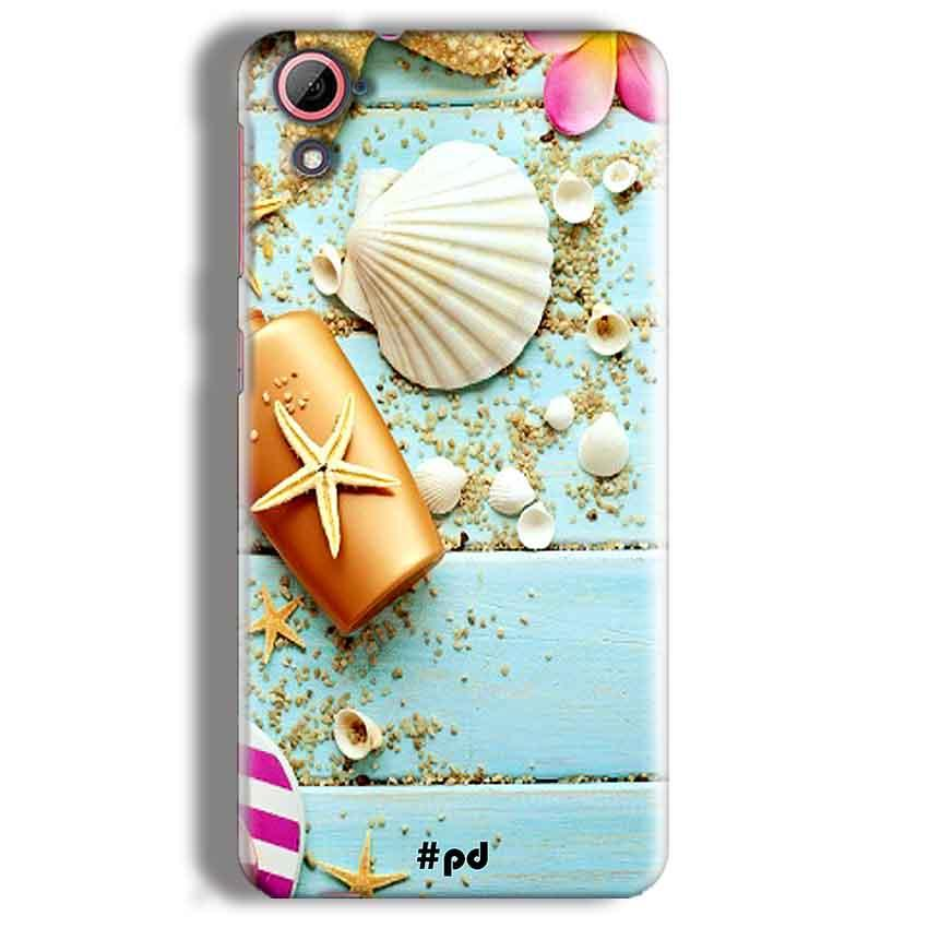 HTC Desire 826 Mobile Covers Cases Pearl Star Fish - Lowest Price - Paybydaddy.com
