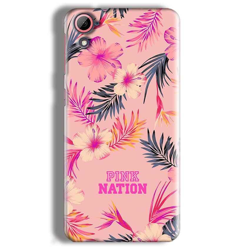 HTC Desire 826 Mobile Covers Cases Pink nation - Lowest Price - Paybydaddy.com