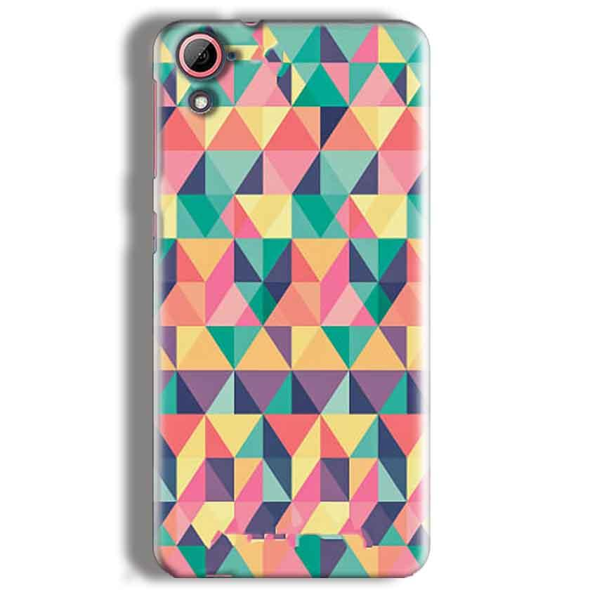 HTC Desire 826 Mobile Covers Cases Prisma coloured design - Lowest Price - Paybydaddy.com