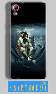 HTC Desire 826 Mobile Covers Cases Shiva Smoking - Lowest Price - Paybydaddy.com