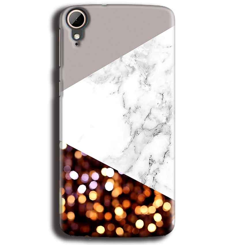 HTC Desire 828 Mobile Covers Cases MARBEL GLITTER - Lowest Price - Paybydaddy.com