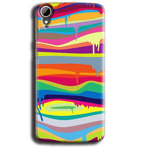HTC Desire 828 Mobile Covers Cases Melted colours - Lowest Price - Paybydaddy.com