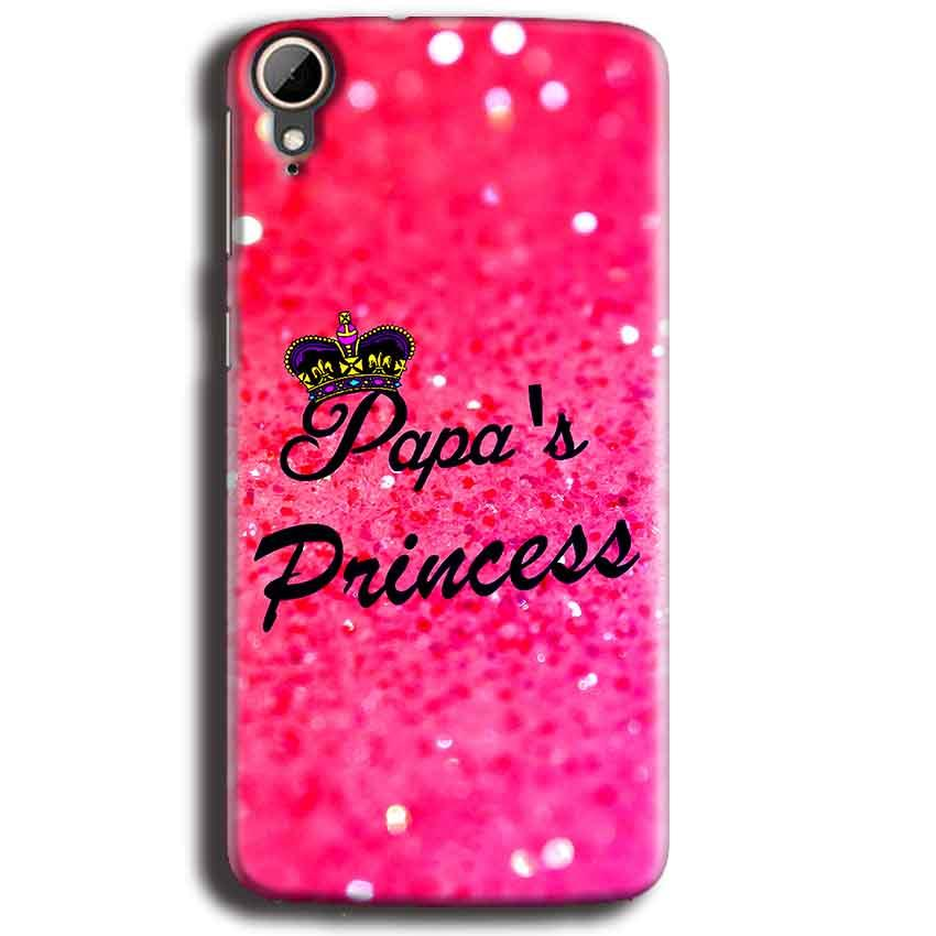 HTC Desire 828 Mobile Covers Cases PAPA PRINCESS - Lowest Price - Paybydaddy.com