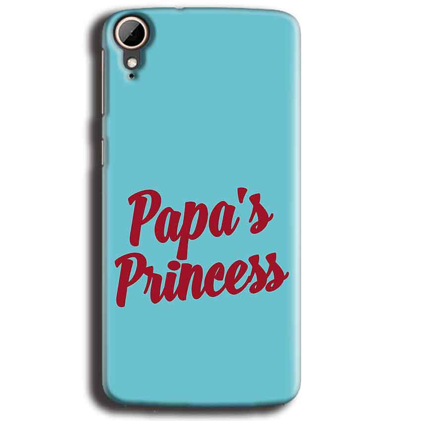 HTC Desire 828 Mobile Covers Cases Papas Princess - Lowest Price - Paybydaddy.com