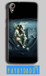 HTC Desire 828 Mobile Covers Cases Shiva Smoking - Lowest Price - Paybydaddy.com