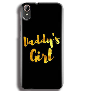 HTC Desire 830 Mobile Covers Cases Daddys girl - Lowest Price - Paybydaddy.com
