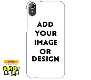 Pic on Cover / Photo Back Cover / Customized Mobile Covers For  HTC Desire 830