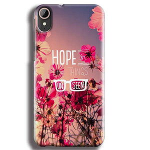 HTC Desire 830 Mobile Covers Cases Hope in the Things Unseen- Lowest Price - Paybydaddy.com
