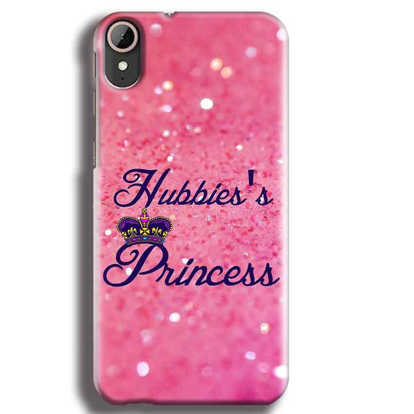 HTC Desire 830 Mobile Covers Cases Hubbies Princess - Lowest Price - Paybydaddy.com
