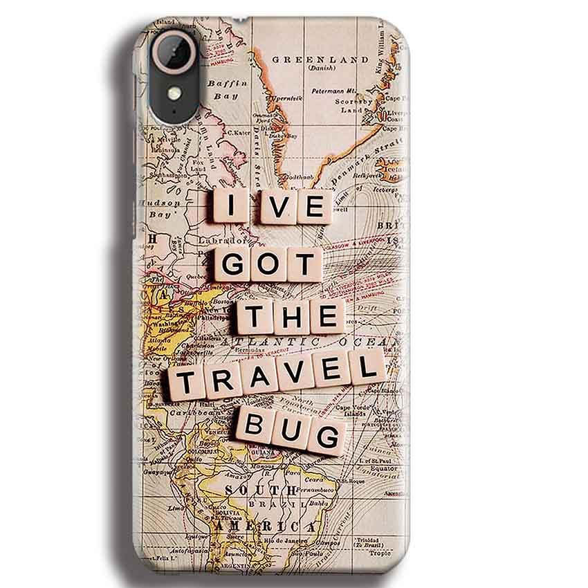 HTC Desire 830 Mobile Covers Cases Live Travel Bug - Lowest Price - Paybydaddy.com