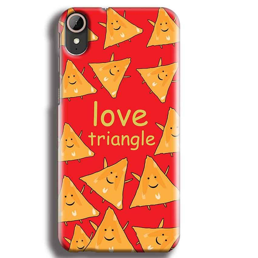 HTC Desire 830 Mobile Covers Cases Love Triangle - Lowest Price - Paybydaddy.com