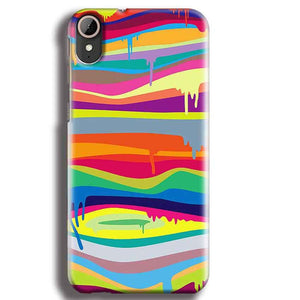 HTC Desire 830 Mobile Covers Cases Melted colours - Lowest Price - Paybydaddy.com
