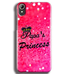 HTC Desire 830 Mobile Covers Cases PAPA PRINCESS - Lowest Price - Paybydaddy.com