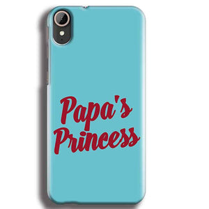 HTC Desire 830 Mobile Covers Cases Papas Princess - Lowest Price - Paybydaddy.com